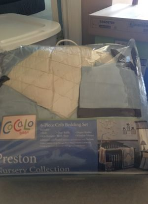 Cocalo baby 6pc baby crib set only used for display for Sale in Hanover, MD