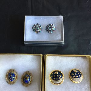 Variety Of Earrings And Brooches for Sale in Reston, VA