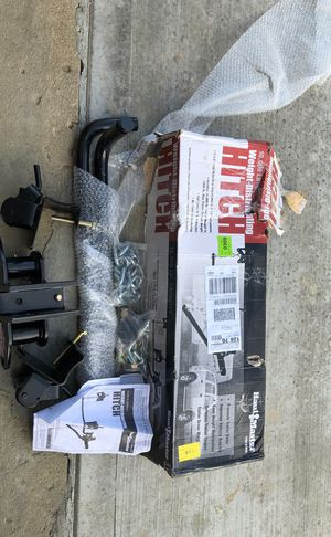 Haul Masterwork Weight-distributing Hitch for Sale in Columbus, OH