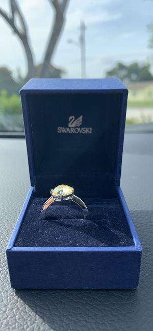Swarovski Emerald/Peridot Ring for Sale in FL, US