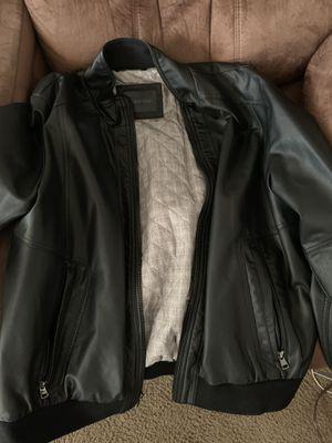 Men leather jacket large Calvin Klein for Sale in Torrance, CA