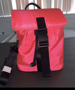 New! Neon pink mini backpack for Sale in Orange, CA