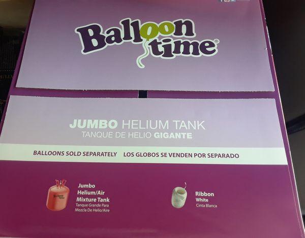 BRAND NEW Jumbo Helium Tank, party balloon birthdays