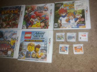 Nintendo 3DS GAMES for Sale in Newnan,  GA