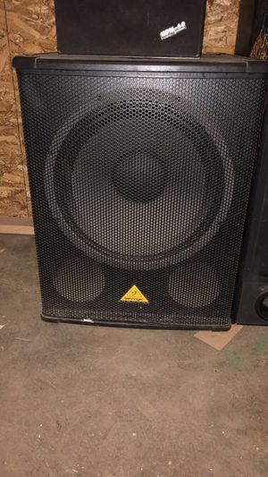 Speakers PA system for Sale in SeaTac, WA