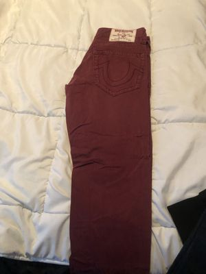 True Religion size 29 red jeans.. men's 👖 for Sale in Edgewater Park, NJ