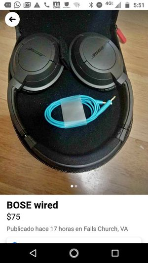 Bose wired for Sale in Falls Church, VA