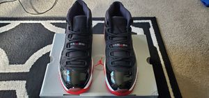 Jordan 11 Bred size 10.5 for Sale in Milwaukee, WI