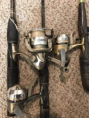 3 fishing combos for Sale in Austin, TX