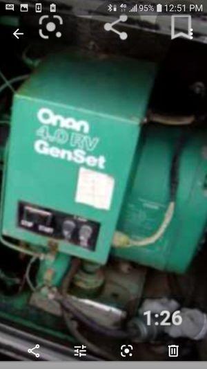 Onan GenSet 4000 for Sale in San Jose, CA