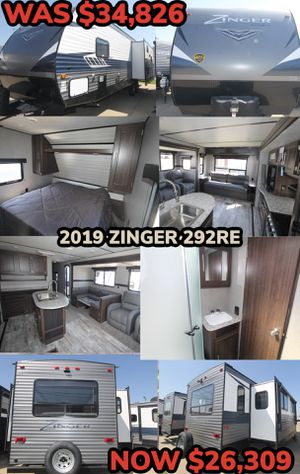 END OF THE YEAR CLEARANCE SALE!! 2019 ZINGER 292RE for Sale in Dallas, TX
