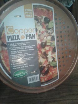 Copper Pizza Pan for Sale in Pompano Beach,  FL