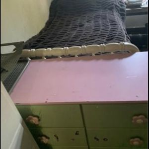 Drawer Wood Real And Frame Bed Only 89$ for Sale in Irvine, CA
