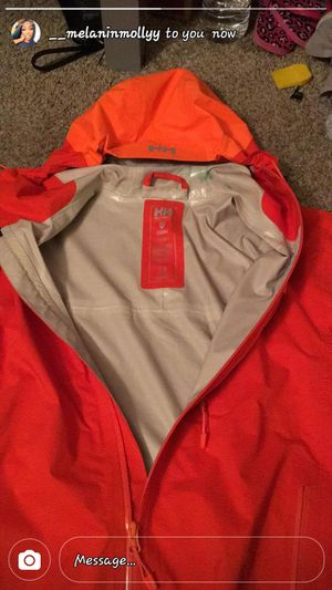 Helly hanson rain jacket for Sale in Washington, DC