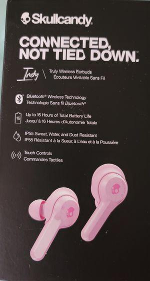 Skullcandy wireless earbuds for Sale in Utica, MI