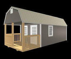 12x32 Premier Side Lofted Barn for Sale in Zephyrhills, FL ...