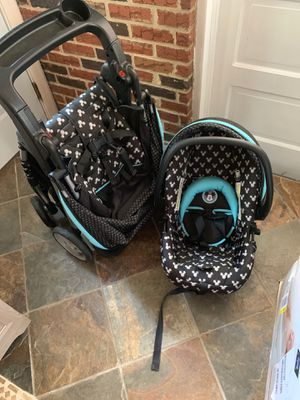 Micky mouse Stroller with car seat for Sale in York, PA