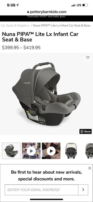 Nuna PIPA™ Lite Lx Infant Car Seat & Base for Sale in Fort Lauderdale, FL