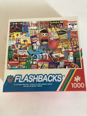 Masterpieces Puzzle 1000 pieces Flashbacks Let the Good Times Roll complete for Sale in Austin, TX