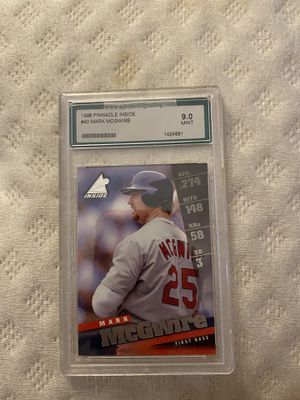Mark McGwire Baseball Card for Sale in Carterville, IL