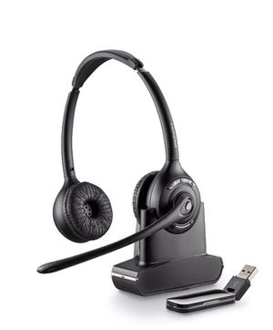 Plantronics Savi W420 Binaural Over-the-Head USB Wireless Headset with Mic for Sale in Eden Prairie, MN