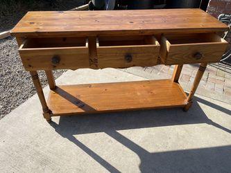 Farm House Buffet Table  for Sale in Visalia, CA