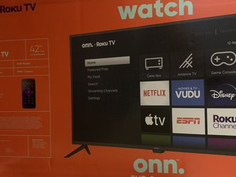 "42"" ONN ROKU SMART TV for Sale in Austin,  TX"