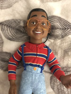 Talking Steve Urkel Doll Vintage 1991 Hasbro Toys Family Matters TV Show Figure. No box, Just received this deal, don't know much about it, TV show, for Sale in Phoenix, AZ