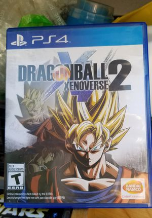 DRAGONBALL XENOVERSE 2 - PS4, PRICE FIRM, TRADE FOR Sekiro Shadow Die Twice OR BO4 Only for Sale in Garden Grove, CA