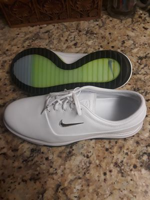 NEW Men's Nike Air Zoom Victory Tour Golf Shoes Size 11.5 White with Chrome Swoosh. Quality Product NEW for Sale in Phoenix, AZ