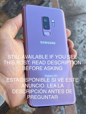 Samsung galaxy S9 plus 64g unlocked for Sale in San Leandro, CA
