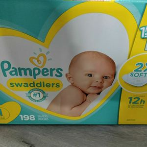 Diapers Size 1 for Sale in La Habra, CA