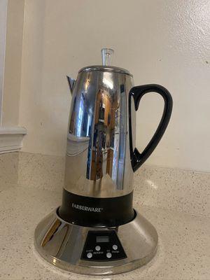 Farberware 12 Cup Coffe percolator for Sale in Montgomery Village, MD