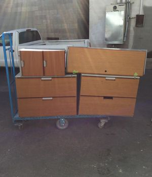 Assorted filing cabinets. Sold as is. $35 each OBO.Pick up only. for Sale in Las Vegas, NV