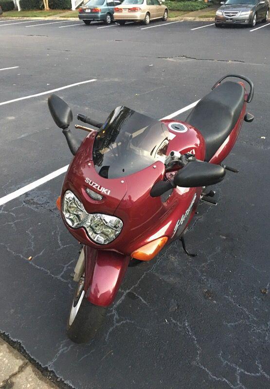 Motorcycle 1998 Suzuki Katana 750