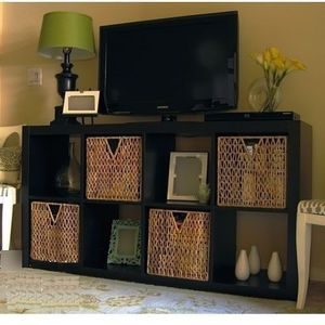 Like new! Tv console, cabinet, storage shelf for Sale in Salt Lake City, UT