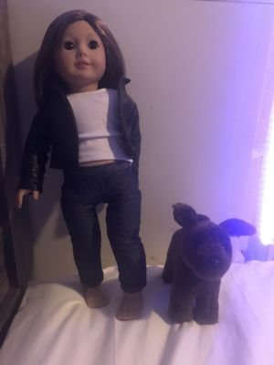 American Girl Doll (Comes With Dog) for Sale in Bell Gardens, CA
