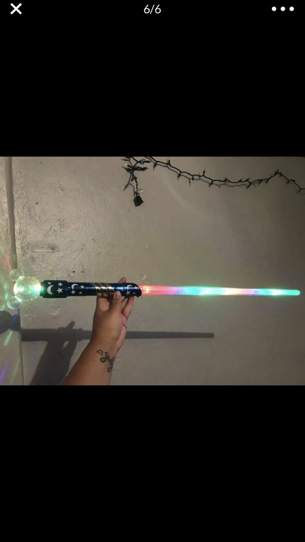 Disney light up Mickey Mouse Star Wars light saber