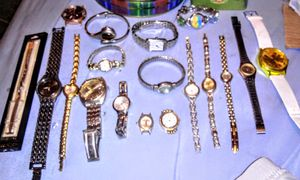Lot of beautiful Silver and gold toned Watches for Sale in Albuquerque, NM