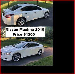 ֆ12OO_2010 Nissan Maxima S for Sale in West Covina, CA