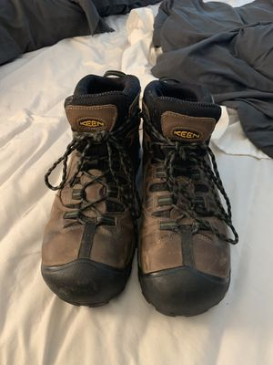 Keen steel toe work boots. Size 11.5 for Sale in Sherwood, OR