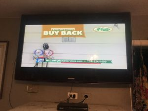 Samsung 52 inch flat screen TV for Sale in Frederick, MD