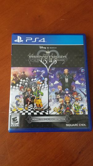 Kingdom Hearts HD 1.5 & 2.5 remix PS4 for Sale in Lorton, VA