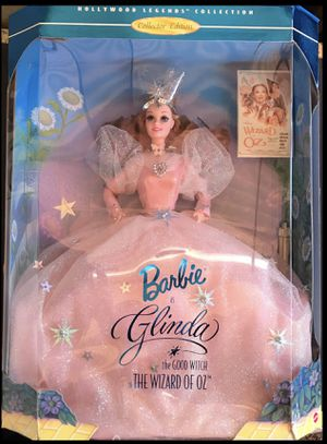 Vintage Barbie as Glinda the Good Witch and Ken as the Scarecrow from the Wizard of Oz Collectors Series for Sale in Martinsburg, WV