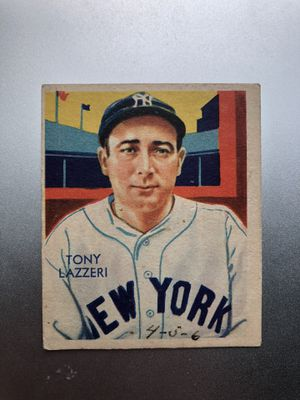 1935 Diamond Stars Tony Lazzeri Yankees Vintage Baseball Card - VG-EX for Sale in Kent, WA