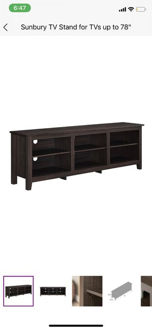 Sansbury TV Stand for up to 78 inch TV for Sale in Denver, CO