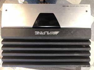 amplifier alpine plus speakers for Sale in Boston, MA