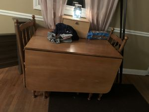 Kitchen table with two chairs for Sale in Thomasville, NC