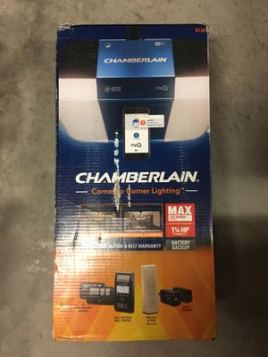 Chamberlain B1381 1.25 HP Smart Garage Door Opener with Battery Backup for Sale in Clermont, FL