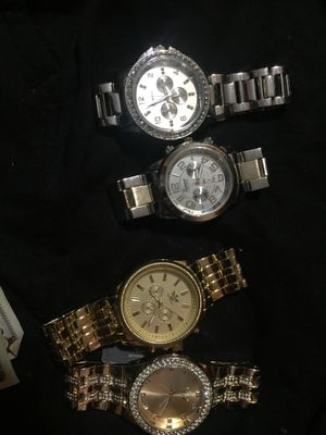 Gold watch's and silver watches for Sale in Carrollton, TX